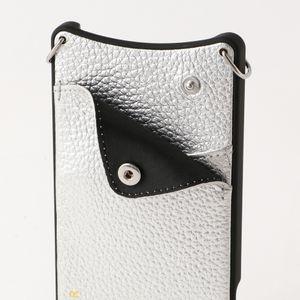 【BANDOLIER】NICOLE RICH SILVER iPhone6/7/8 bdl05-10nic-slv-x