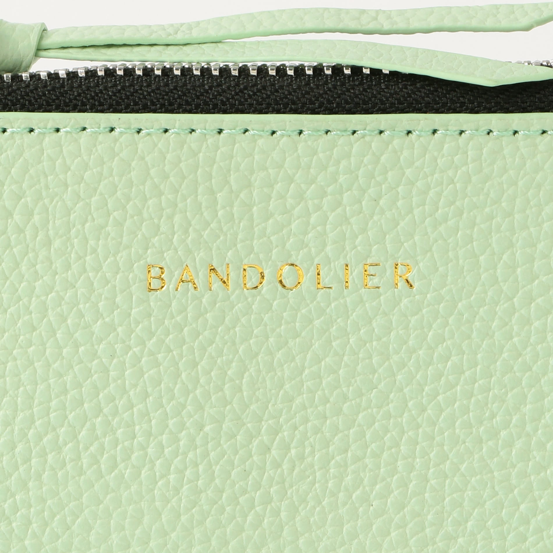 【BANDOLIER】NICOLE MIST GREEN POUCH bdl05-20nic-migrn