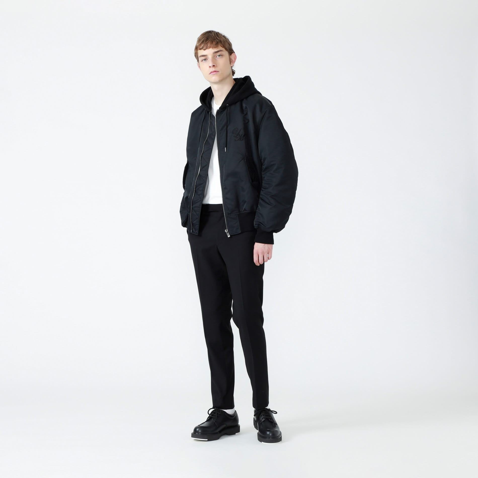 【Education from Youngmachines】YMフーデッドオーバーMA-1