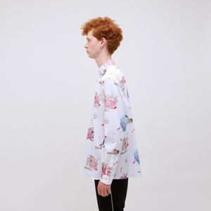 【Education from Youngmachines】PRINT シャツ
