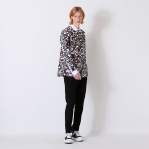 【Education from Youngmachines】ワッペンプリント シャツ