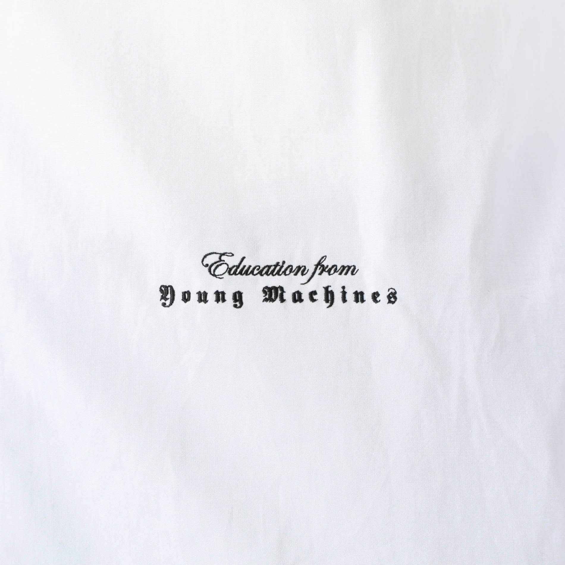 【Education from Youngmachines】サテンレイヤードライクシャツ