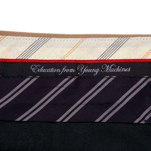 【予約販売】【Education from Youngmachines】タック テーパードパンツ
