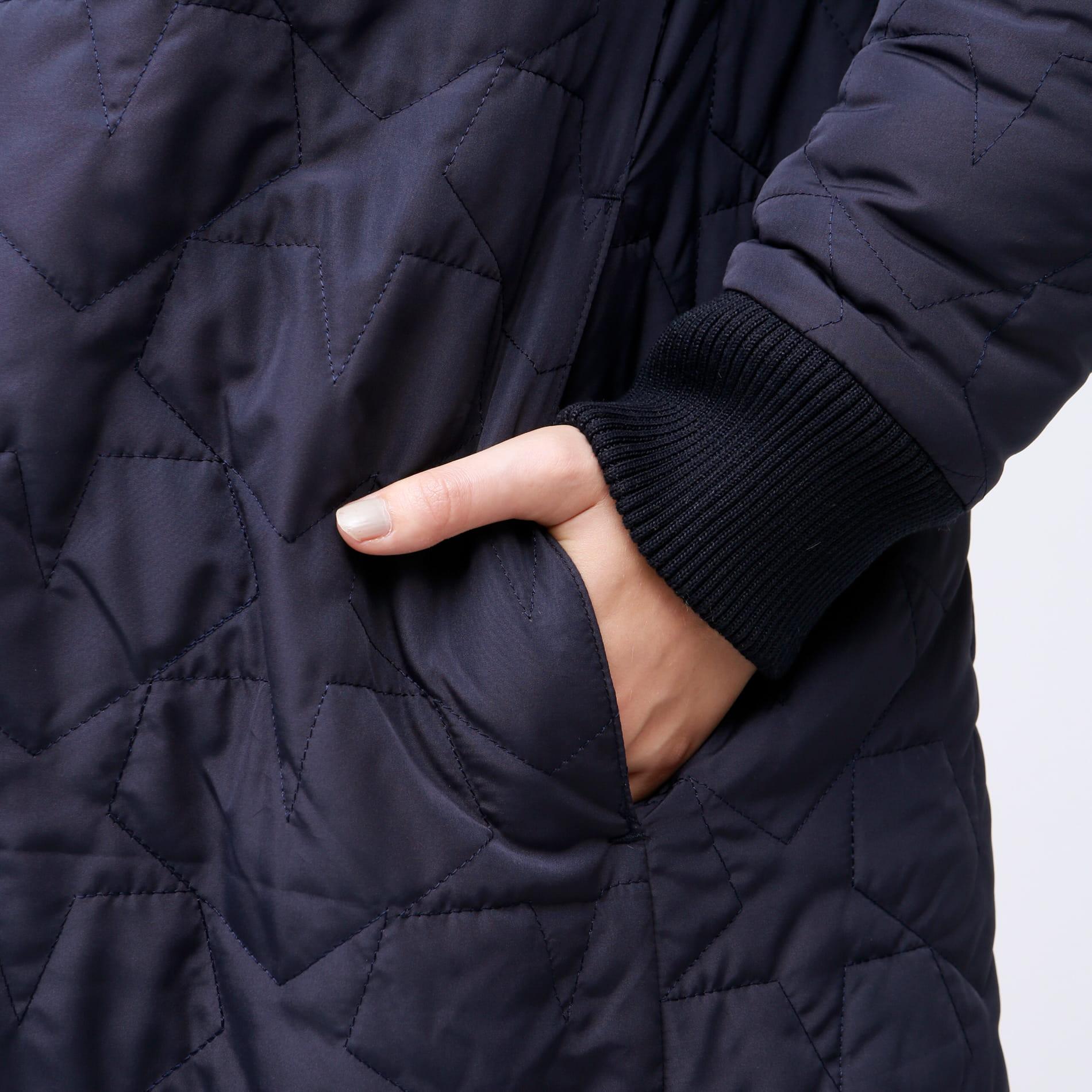 ボア キルト リバーシブル ジャケット