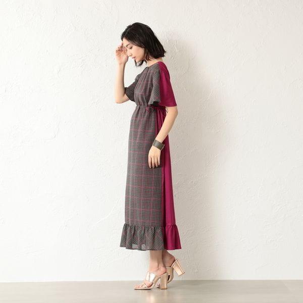 【GUILD PRIME】WOMEN 2WAYドロストドレス