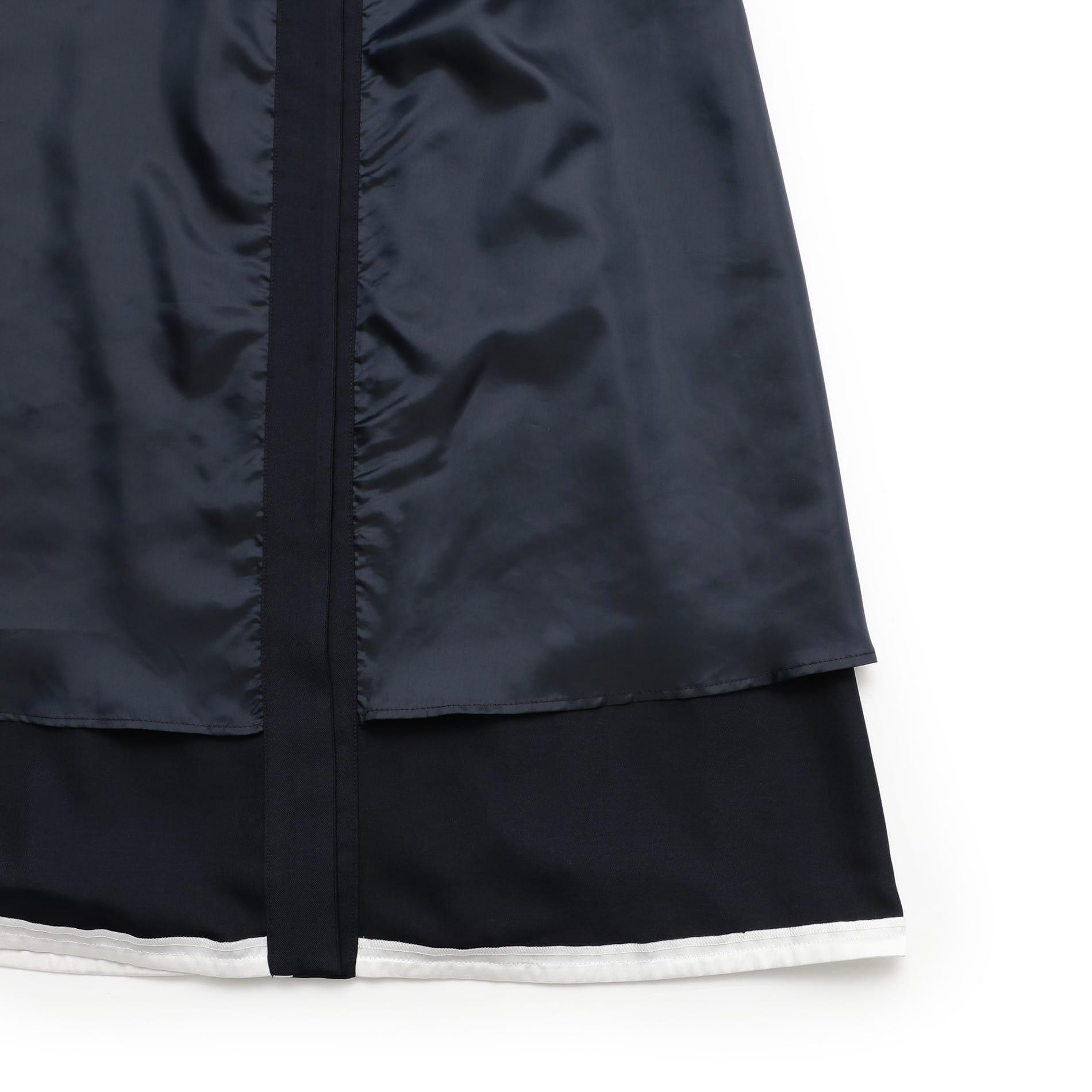 【GUILD PRIME】WOMEN バイカラーパイピングシャツドレス