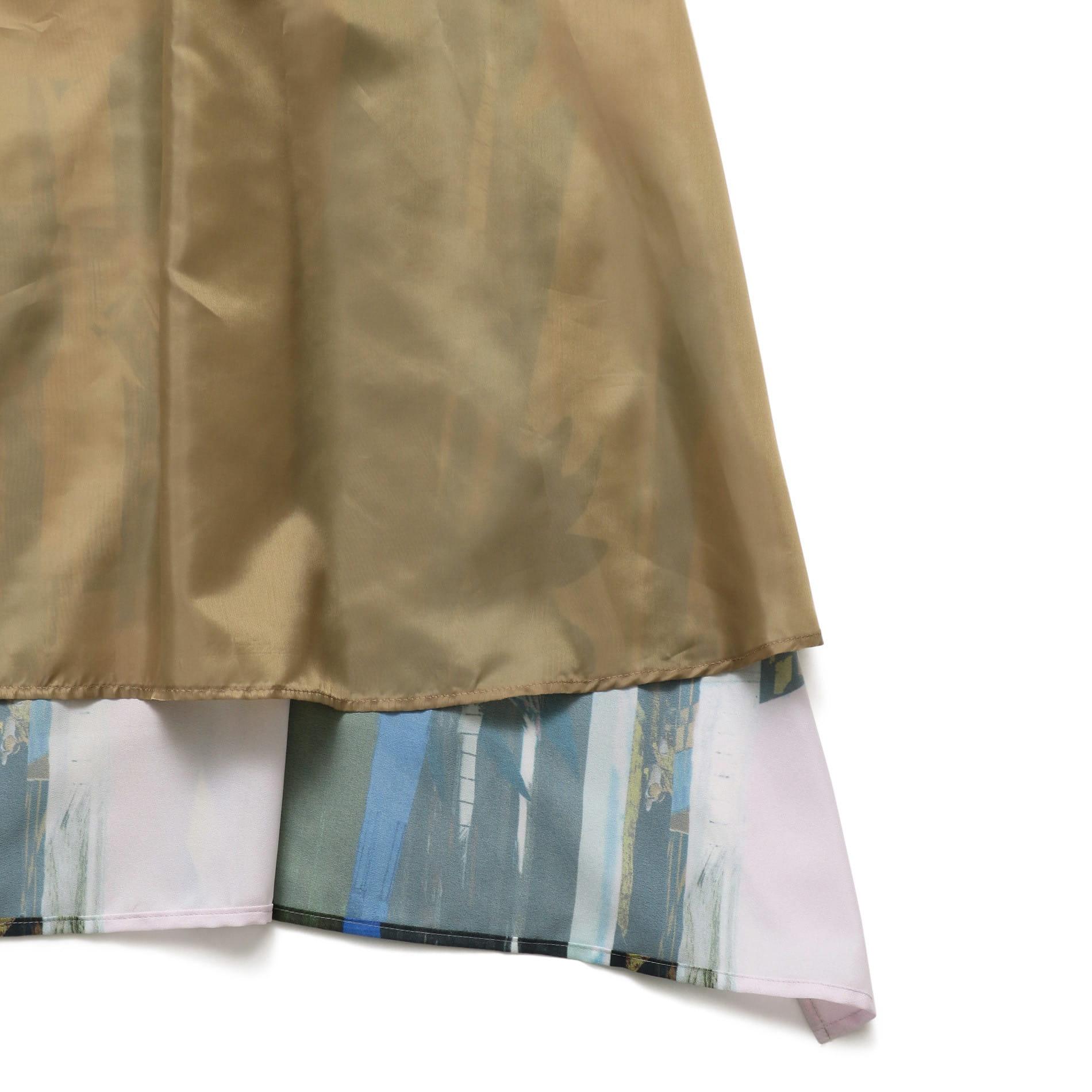 【Frei EA】WOMEN バックスカーフドレス