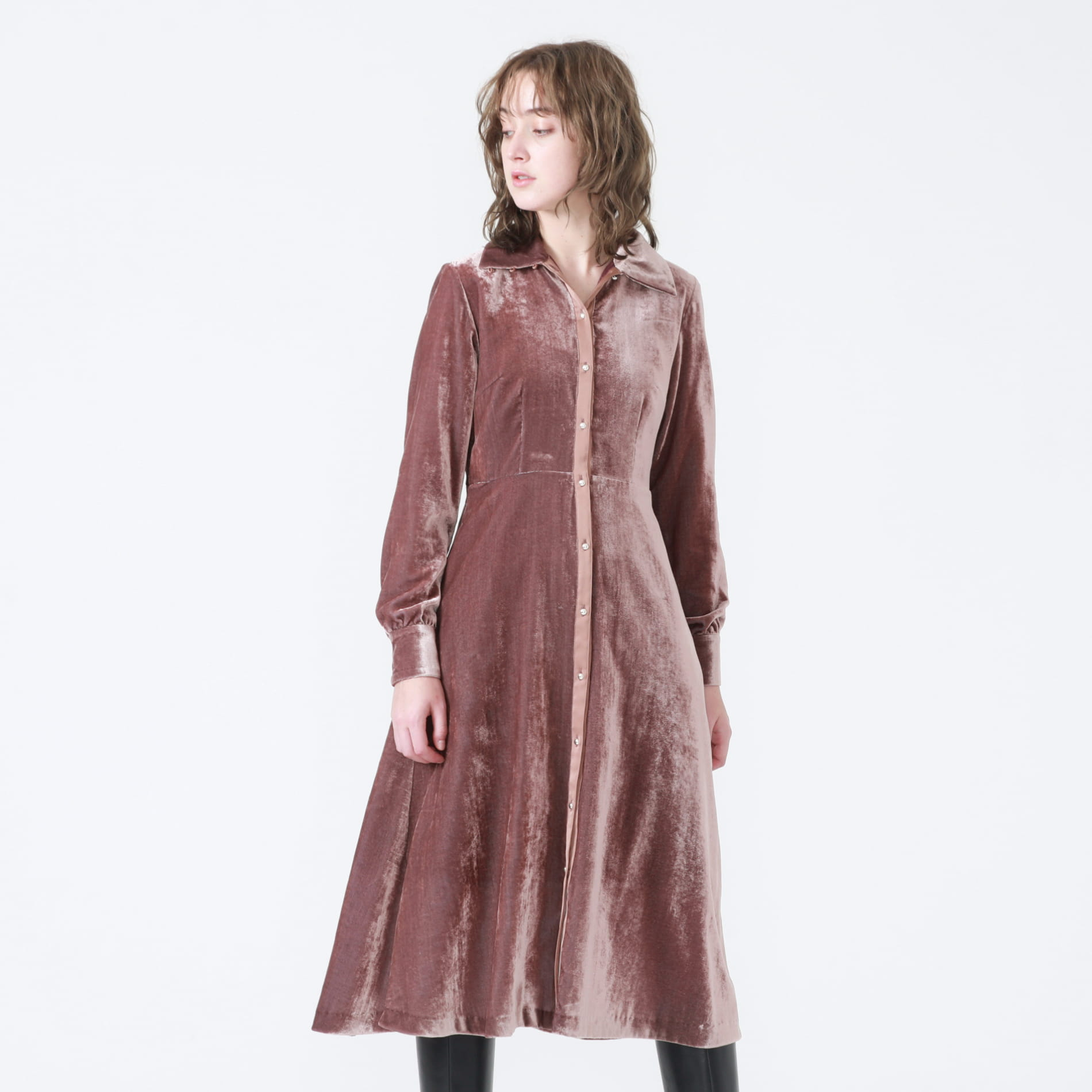 ベルベットドレス