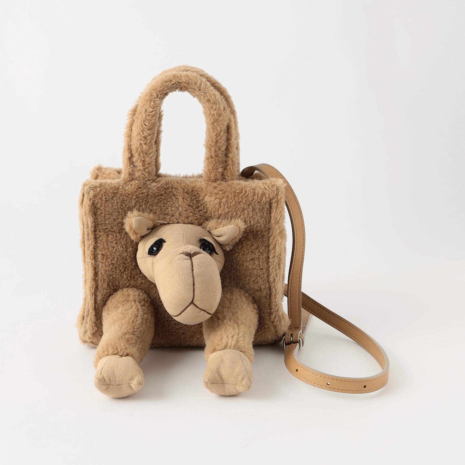 【doublet】MEN バッグ STUFFED ANIMAL FUR BAG 「S」 21AW05BG29