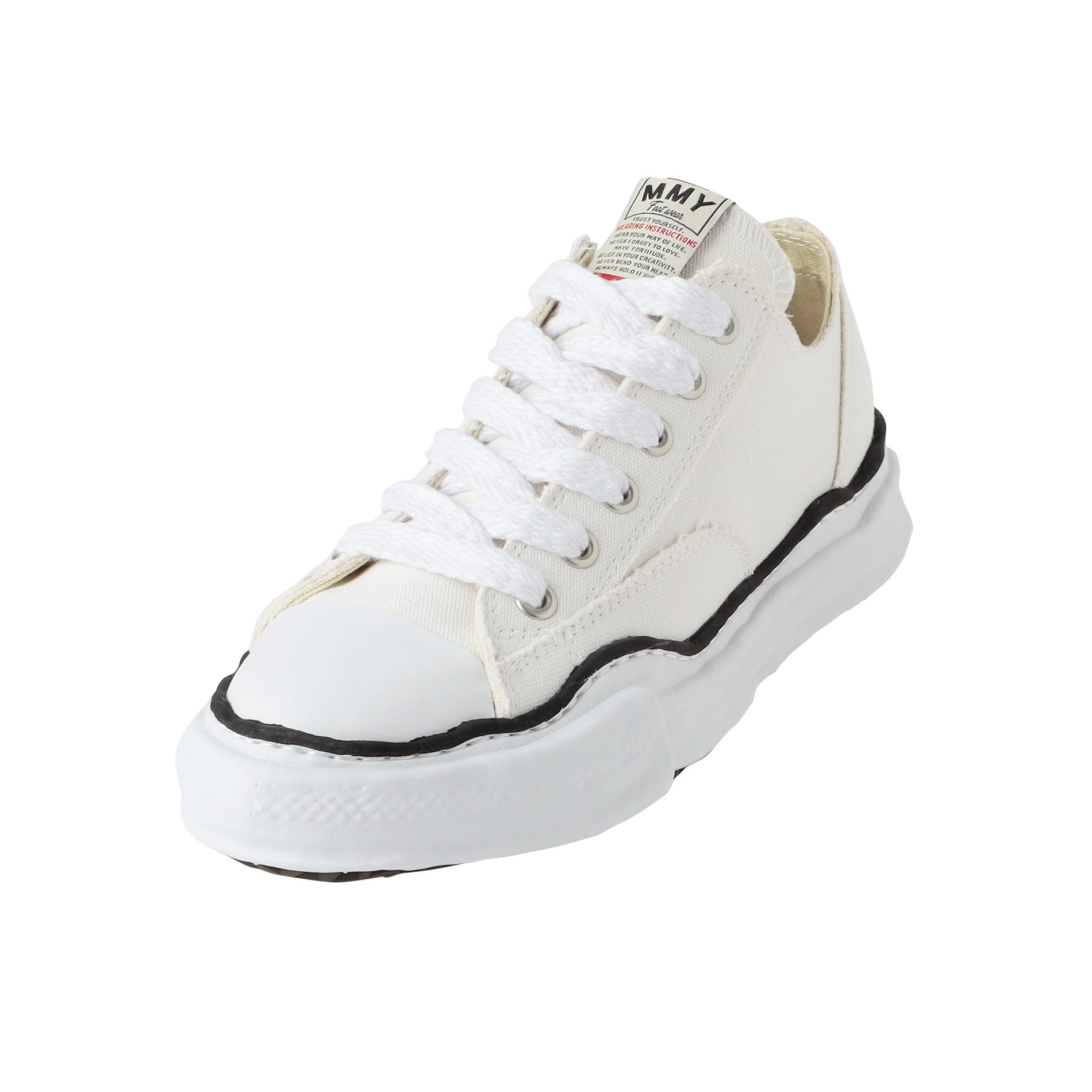 【Maison MIHARA YASUHIRO】MEN スニーカー original sole canvas lowcut sneaker A01FW702