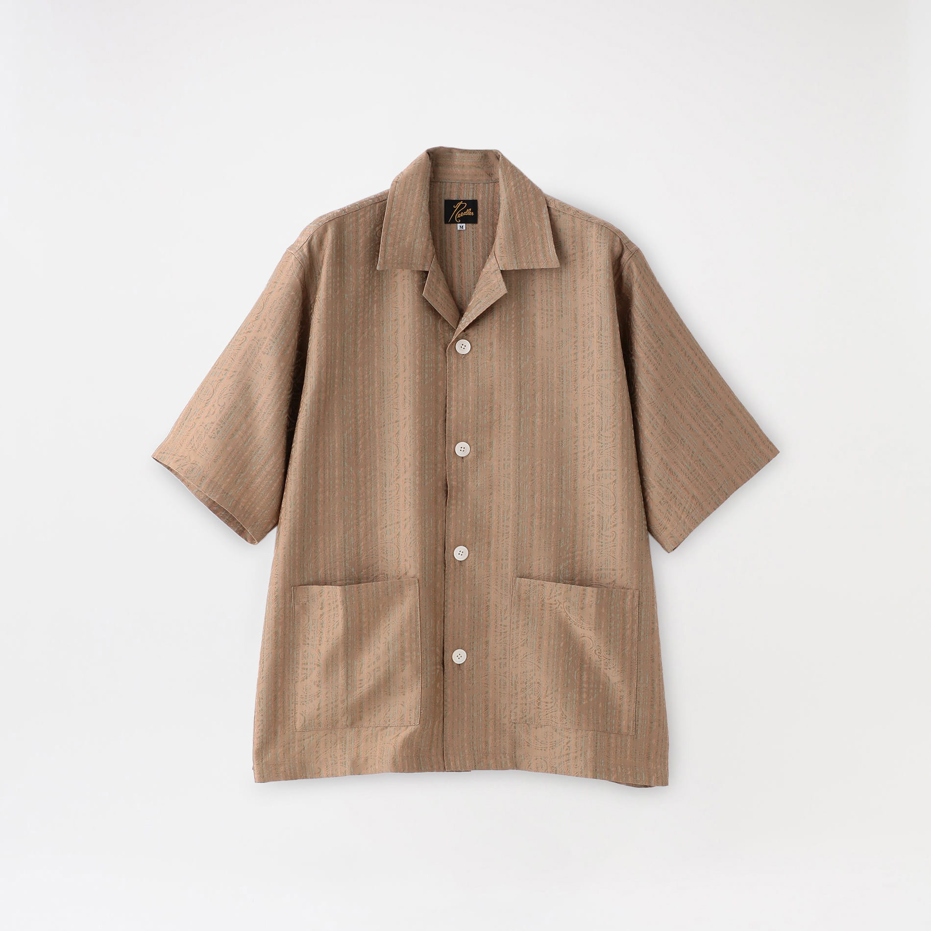 【Needles】MEN シャツ Cabana Shirt - Paisley Jq. IN085