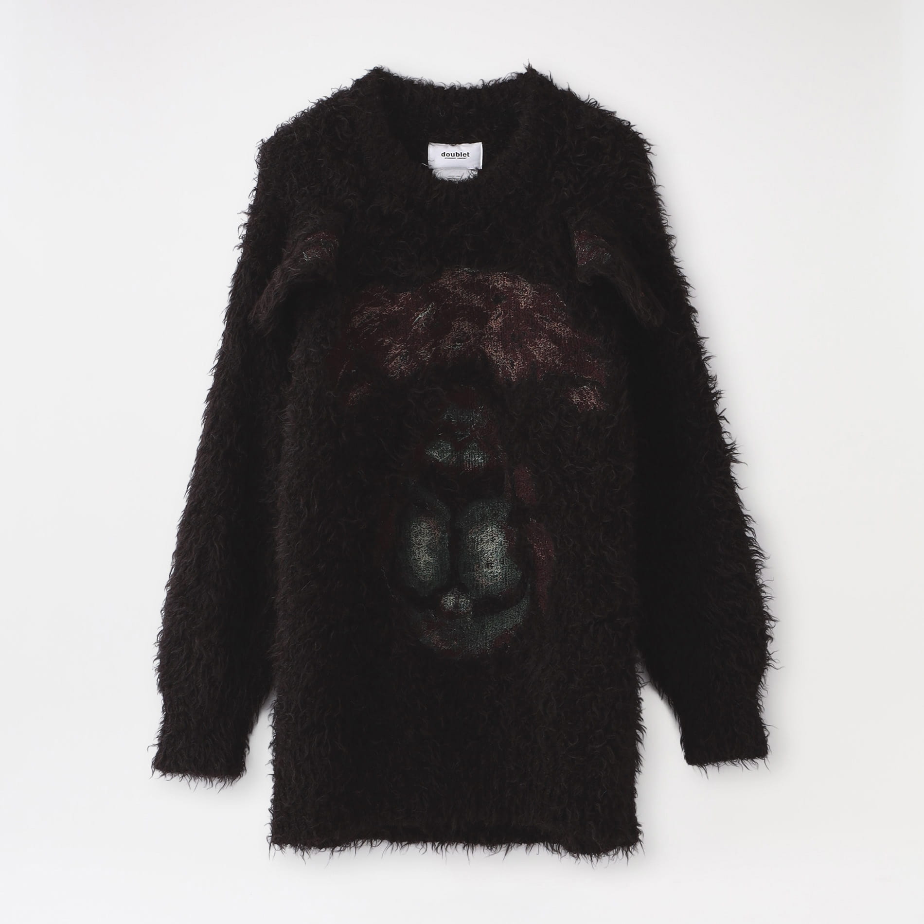 【doublet】MEN ニット ANIMAL EMBROIDERY PULLOVER 21AW33KN55