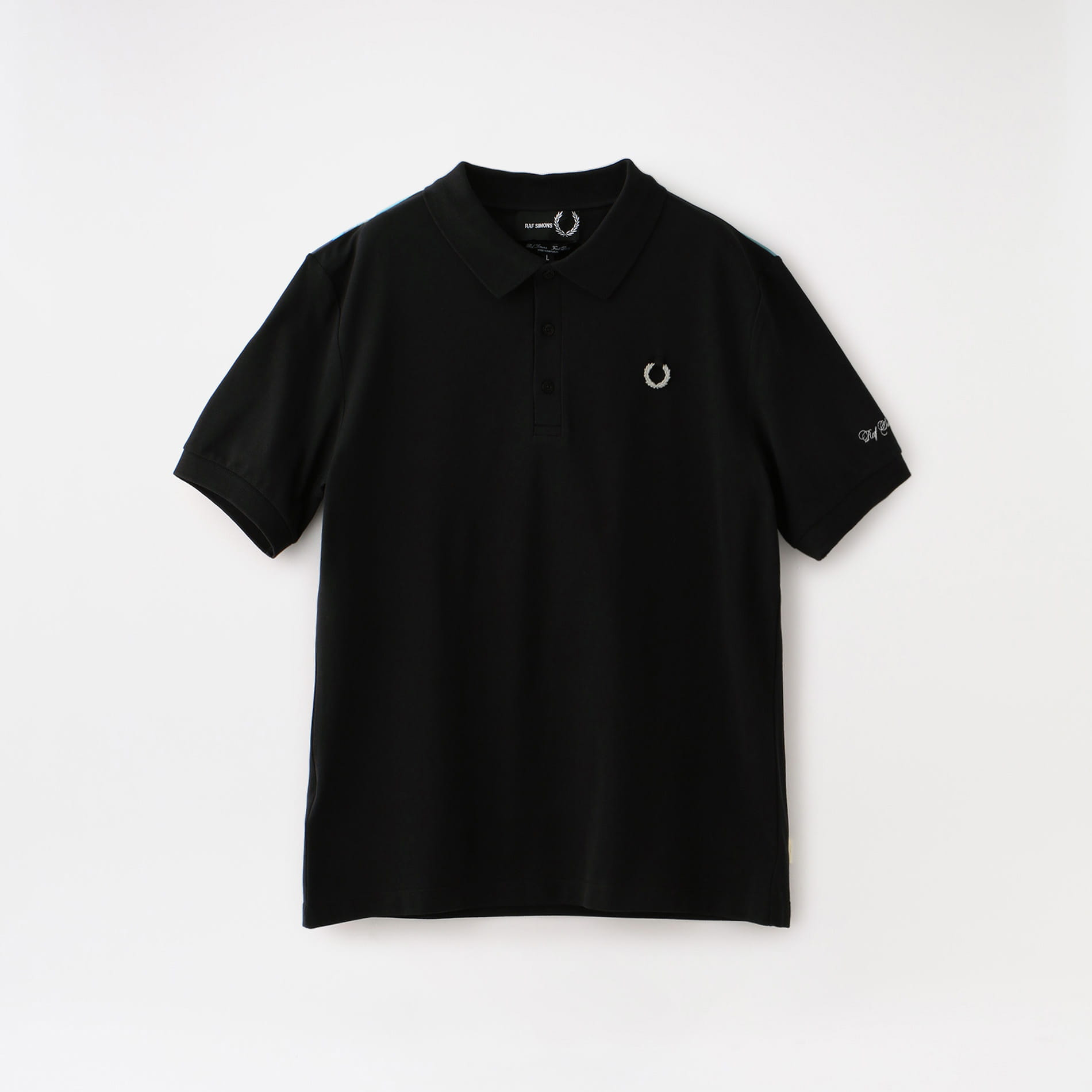 【FRED PERRY×RAF SIMONS】MEN YOKE PRINT POLO SM8127