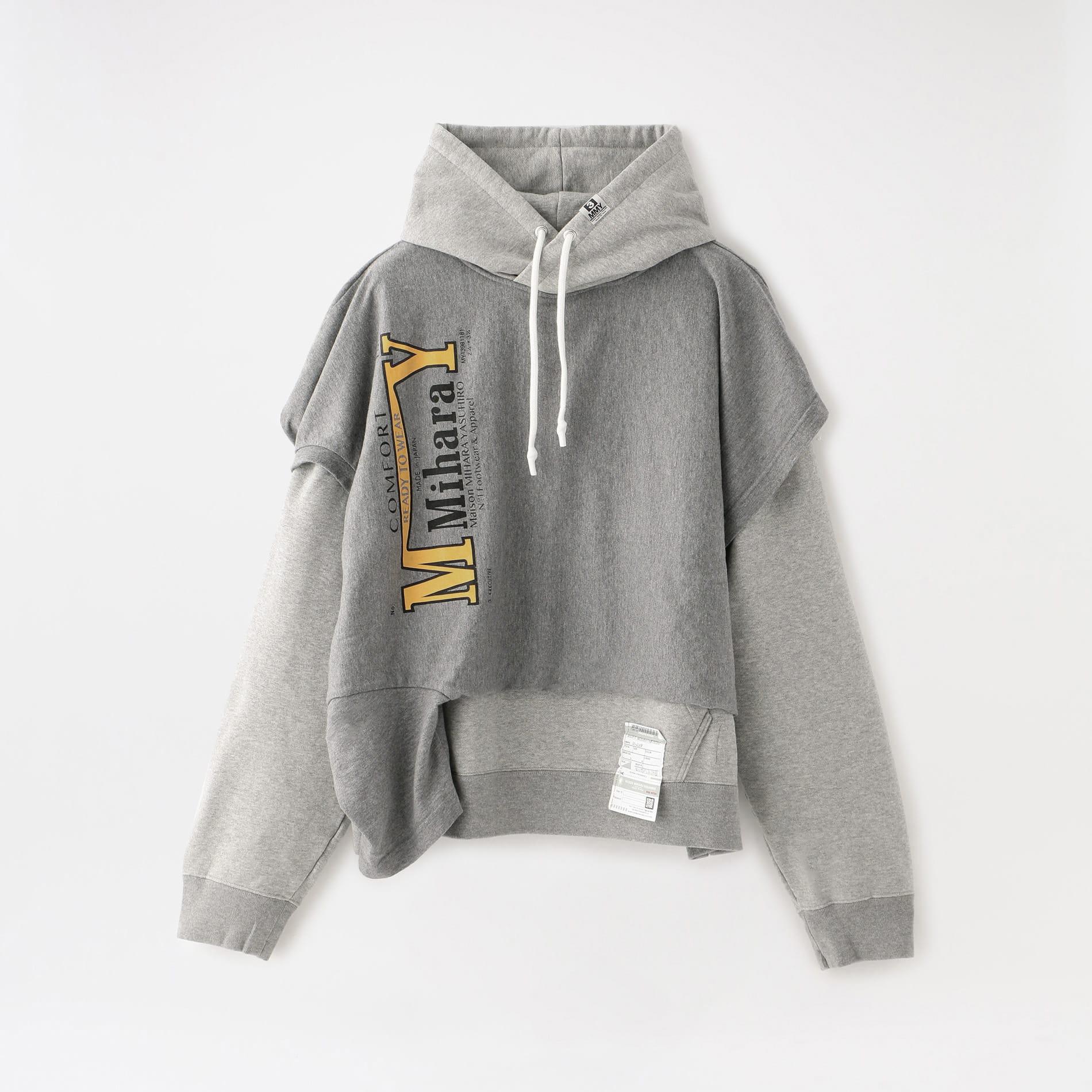 【Maison MIHARA YASUHIRO】MEN T-shirt docking hoodie A05HD551