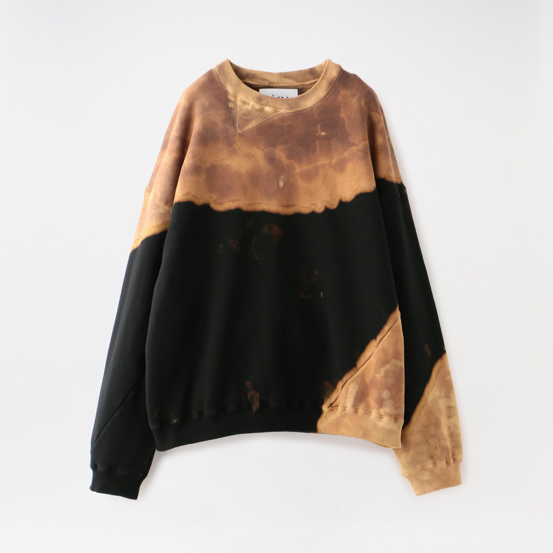 【NOMA t.d.】MEN Bleach Twisted Sweat CS01