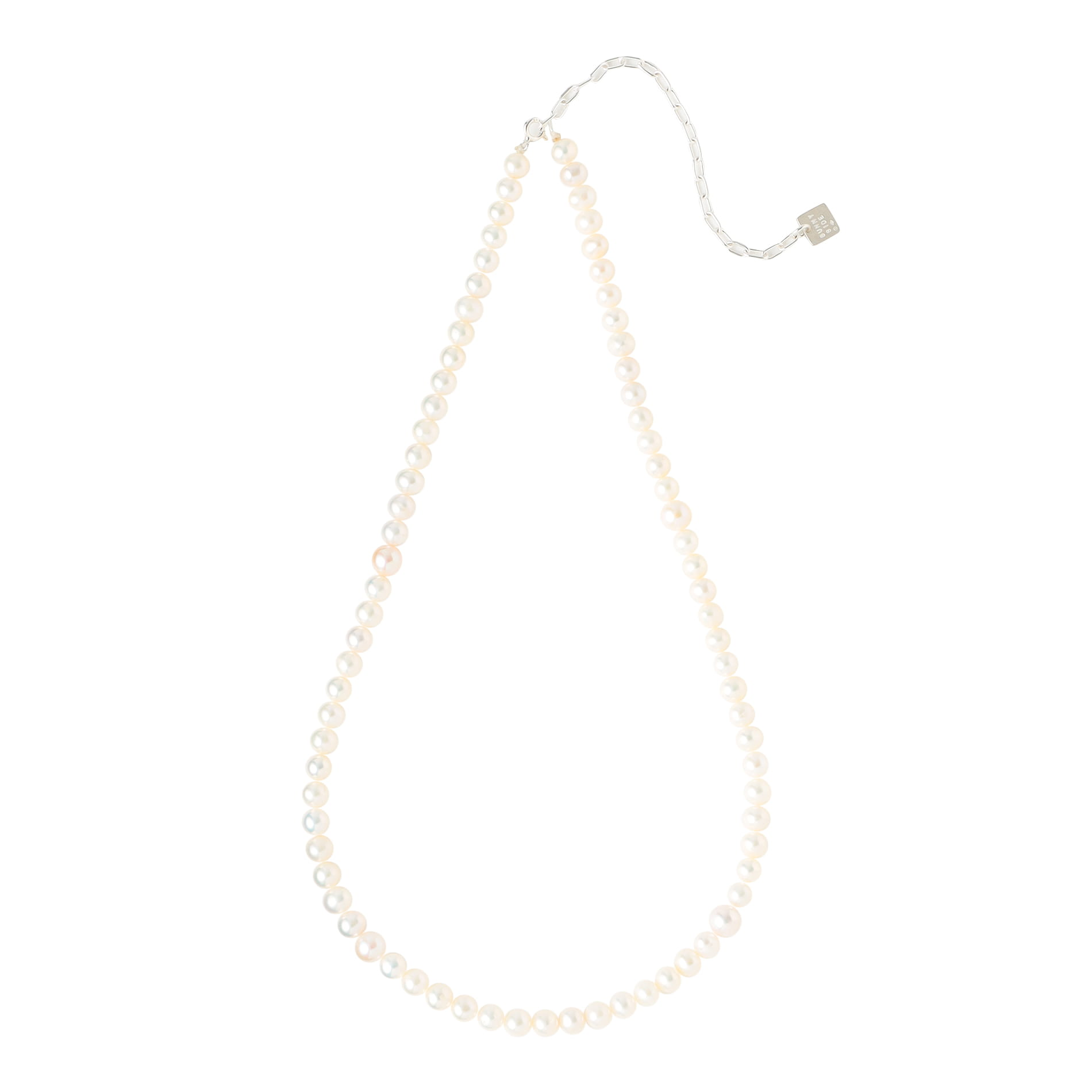 【on the sunny side of the street】ネックレス 6mm Pearls Necklace 010-352N