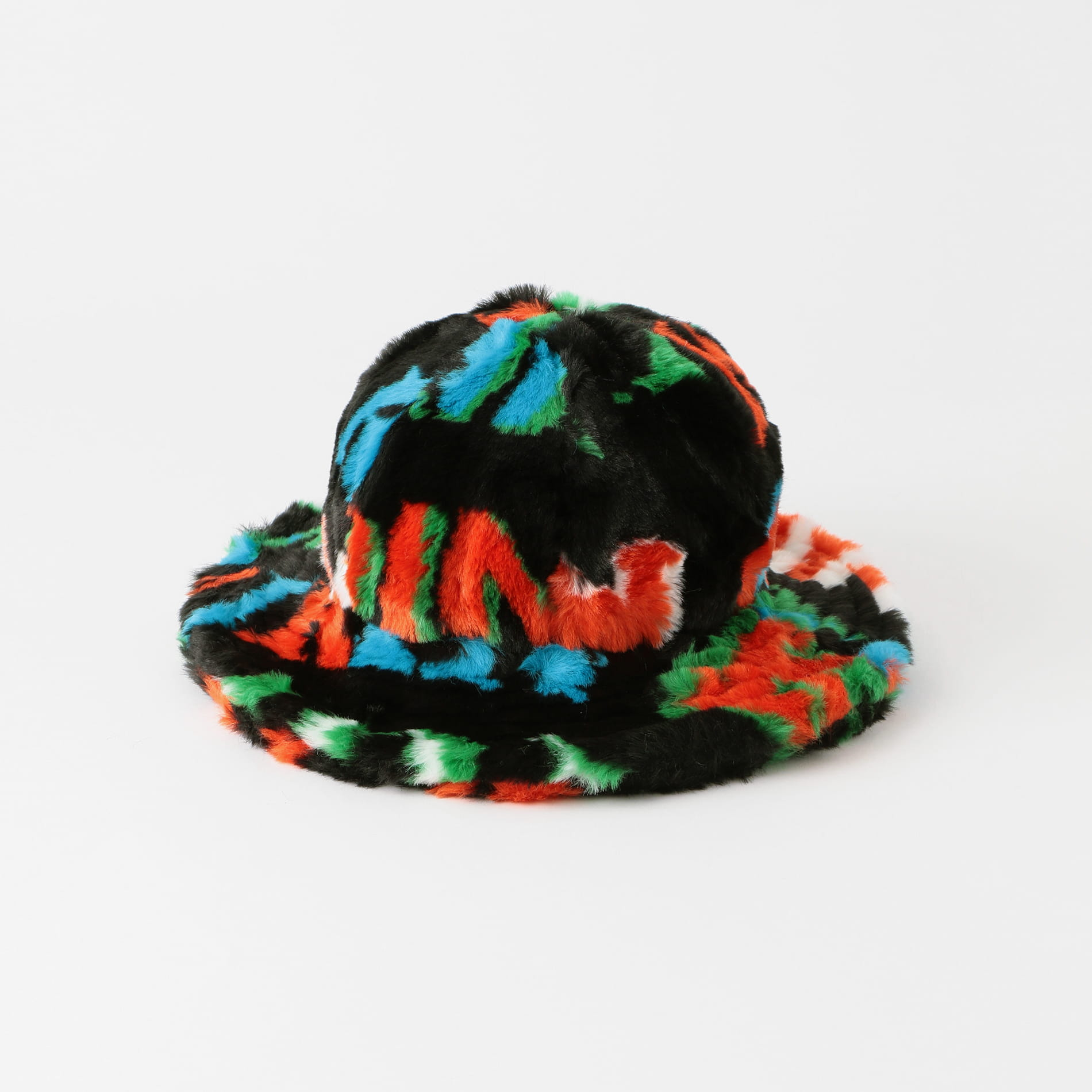 【KIRIN】WOMEN BIG TYPO FUR OVER CLOCHE HAT KWLA003F20FAB0011055 KWLF20-117