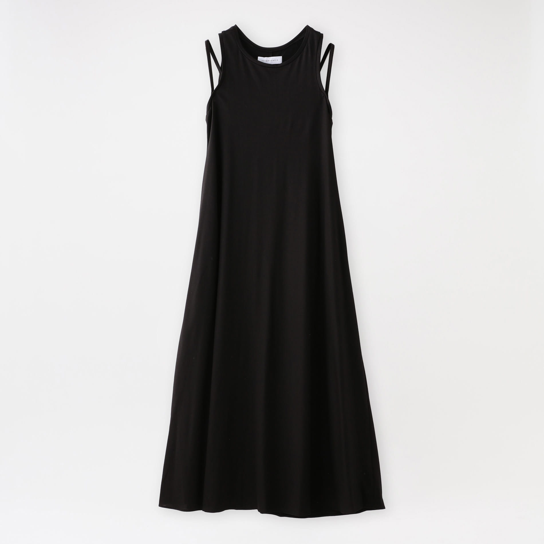 【返品送料無料】【SAYAKA DAVIS】WOMEN Double Strap Jersey Dress MCS34-GLC