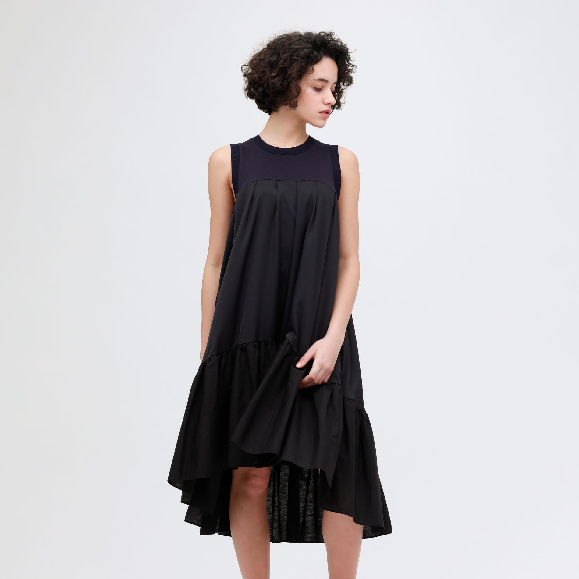 【AVIE】WOMEN 別注 Volume dress 4200-010601