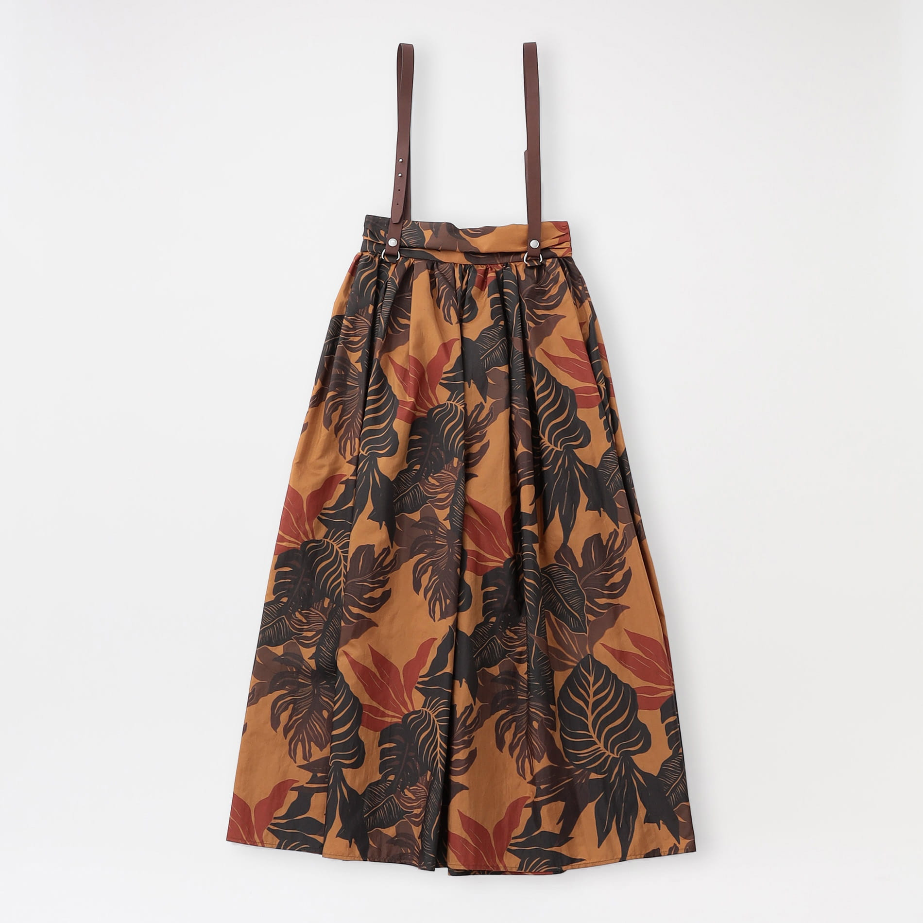 【muller of yoshiokubo】WOMEN スカート Botanic gather skirt MLS21405B