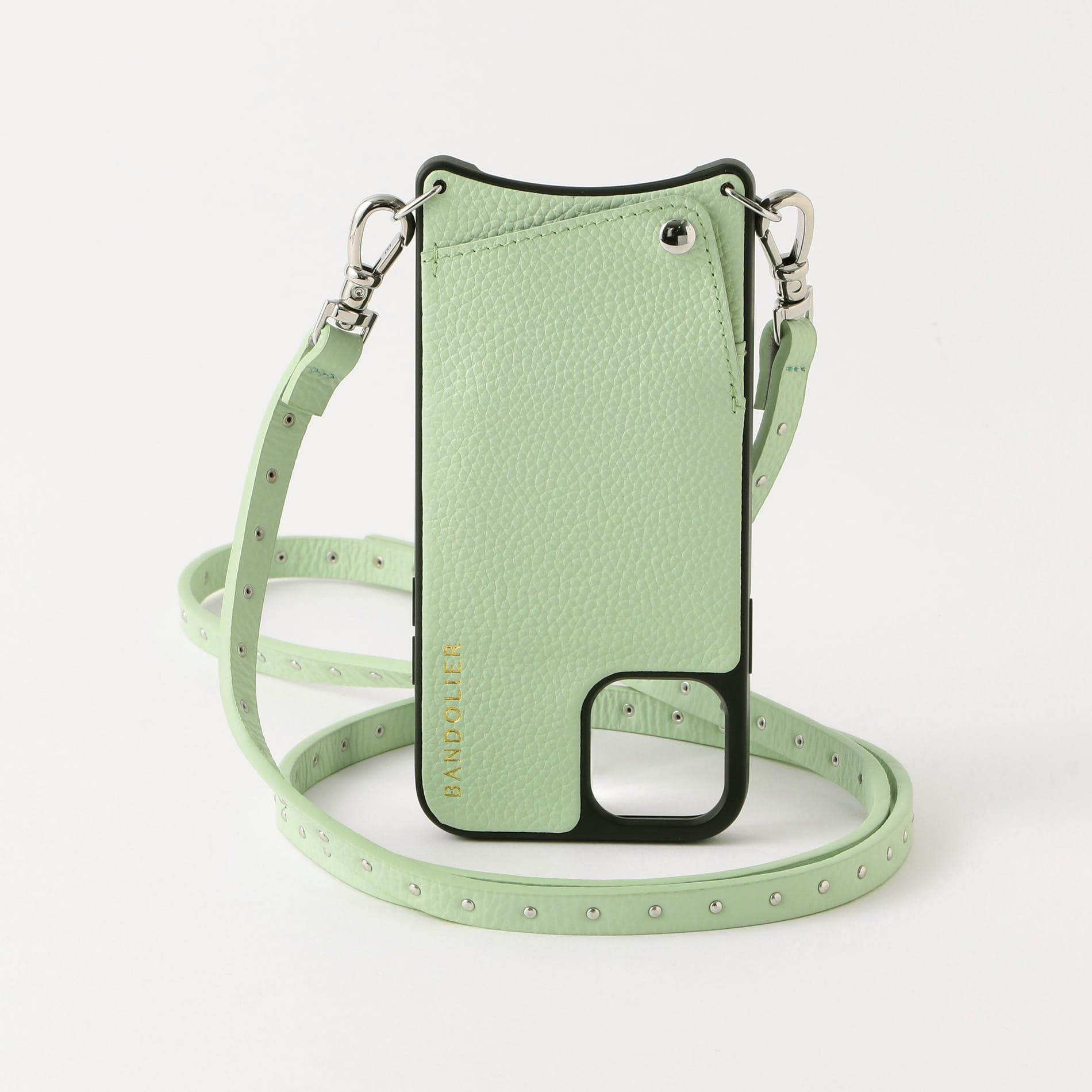 【BANDOLIER】NICOLE MIST GREEN iPhone 11 Pro bdl05-10nic-migrn-11p
